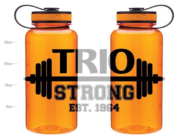 #TRIOworks TRIO Strong H2GO Waterbottle Pueblo Community College