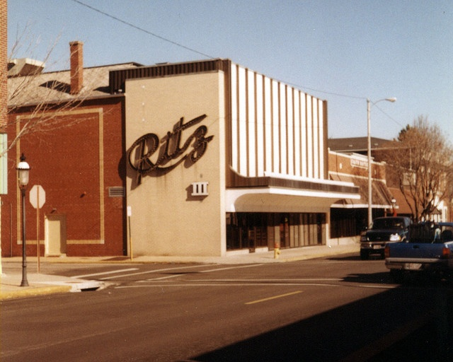 BAC Ritz Theatre, corner of N Charles and E Main Streets, Belleville, Illinois - a church now occupies the building