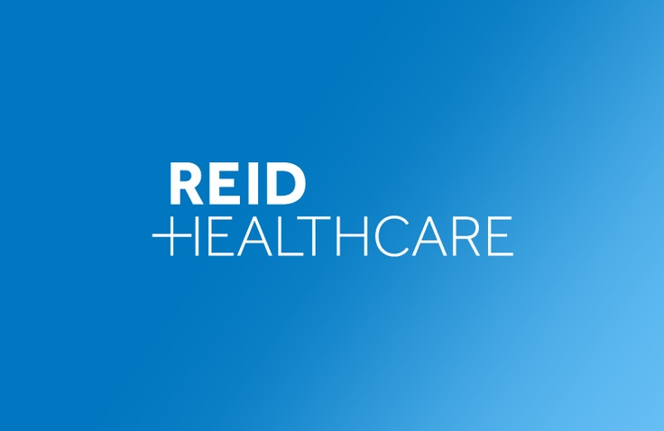 Reid Healthcare I like how the H is used to form a +