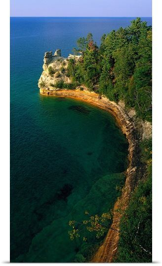 Pictured Rocks National Lake Shore, Lake Superior, Upper Peninsula, MI www.passionandporn.com