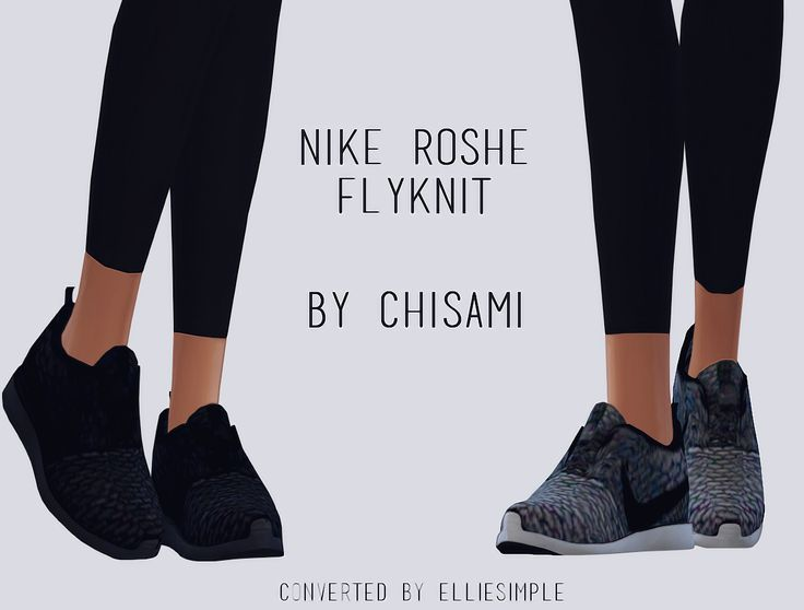 [Elliesimple] - NIKE ROSHE FLYKNIT (by Chisami )• 2 swatches • Morphs