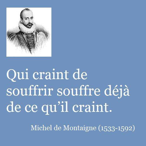 Michel de Montaigne (28 février 1533 - 13 septembre 1592), gentilhomme gascon, est né et mort au château de Montaigne à Saint-Michel-de-Montaigne (Dordogne) en Périgord. Philosophe moraliste et homme politique, il est l'auteur des Essais (1re édition 1580, 2e édition augmentée 1588, édition posthume, 1595).