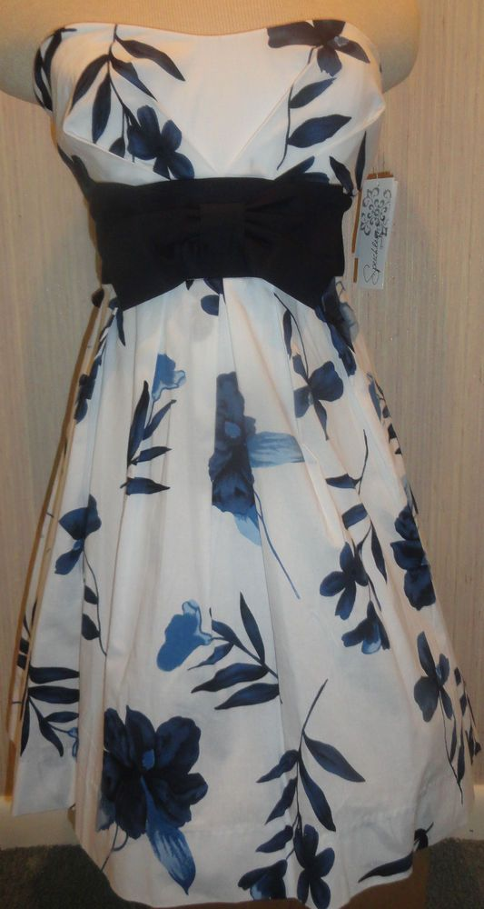 Speechless LadiesStrapless Floral Sundress Juniors Sizes 9, 11   #Speechless #Sundress #Casual
