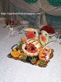 seathemed fruit buffet