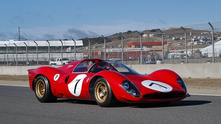 1967 Ferrari 330 P4. (via 1967 Ferrari 330 P4 - Specifications, Images, TOP Rating)  More cars here.