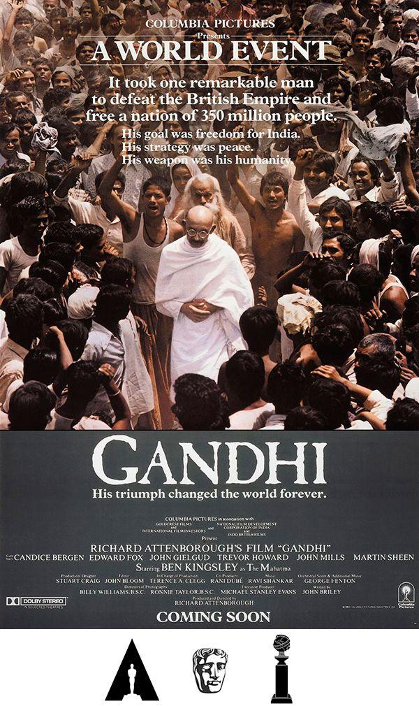 Gandhi Gandhi 1982 Reino Unido India Estados Unidos