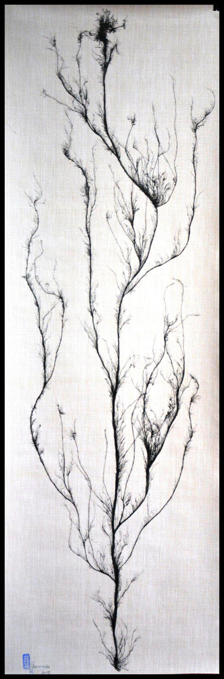"""FICHA TECNICA DE LAS OBRAS """"ARBOLES QUE MIRAIS AL CIELO"""" Nº3 La obra esta realizada con Tinta China al estilo de la escuela del sur de China, también conocida como """"pintura sin huesos"""" (pintura sin contornos). Autor: Mercurio Marin Soporte: Papel pintado. (150gr) Medidas:  Alto.-180cm  Ancho.-52cm Precio: 90€ Gasto de envío a la Península: 9€ (otros preguntar) Forma de pago: Contra reembolso Se envía en tubo de cartón rígido. Certificado de Autenticidad y Pieza Única."""
