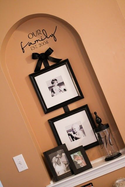 17 best images about art niche on pinterest wall niches for How to decorate an alcove in a wall