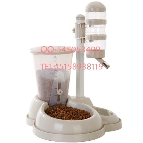Distribuidor da água do animal de estimação combinado tipo dispensador de água alimentação automática Shengjiang vertical água dispensador de estimação bacia do cão tigela