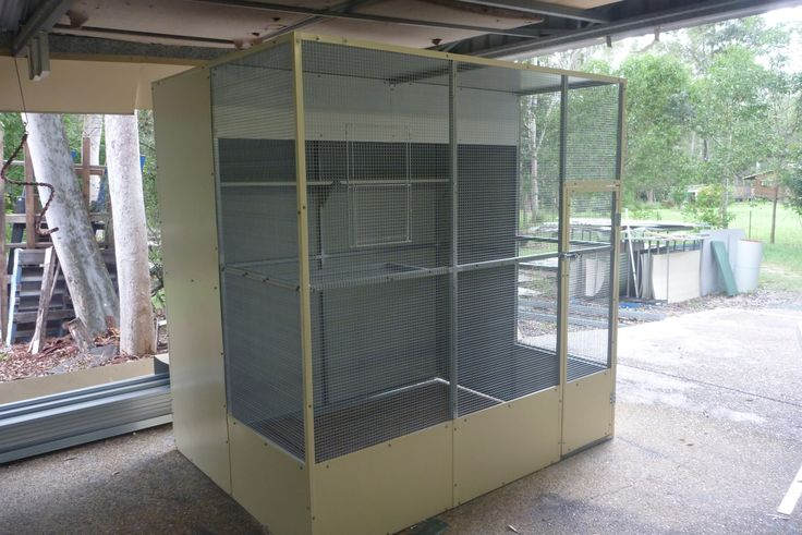 used outdoor bird aviary for sale