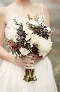 Beautiful rustic bouquet