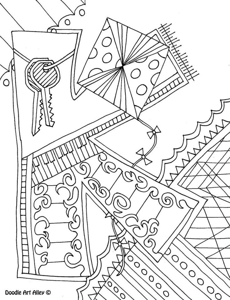 Printable Calendar Doodle Art Alley : Letter coloring pages doodle art alley printables
