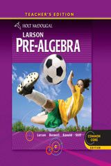 Holt McDougal Larson Pre-Algebra