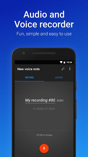 """Easy Voice Recorder Pro v2.3.0 build 11034 [Paid]   Easy Voice Recorder Pro v2.3.0 build 11034 [Paid]  Requirements:4.1 