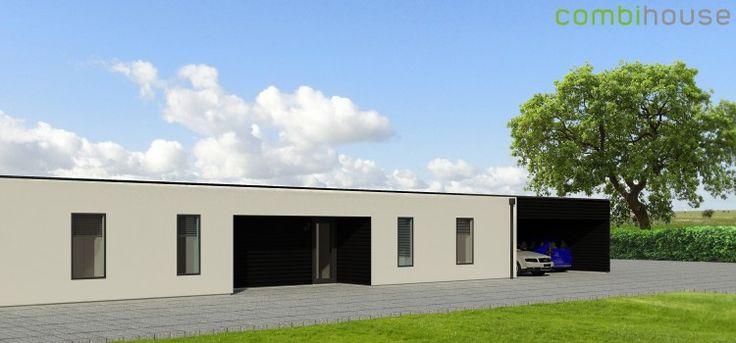 Combihouse - arkitekttegnede lavenergihuse til typehuspriser. http://combihouse.dk