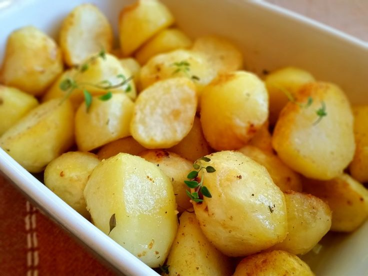 Perfekt ugnsrostad potatis