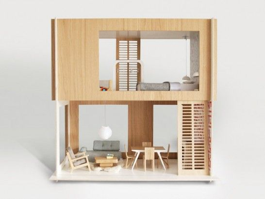 Miniio, beautiful, Modern,  Polish dollhouse furniture