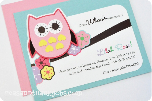 Birthday Cake Cutting Invitation Mail