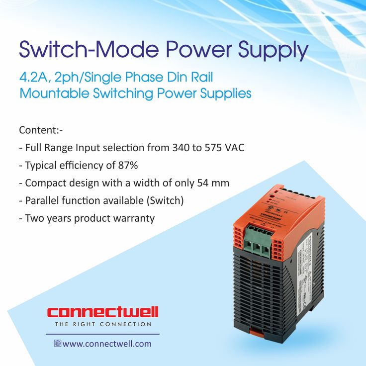Switched-mode power supply or SMPS is an electronic power supply that incorporates a switching regulator to convert electrical power efficiently. For more details visit:http://bit.ly/2hzxkjO #SMPS #Connectwell