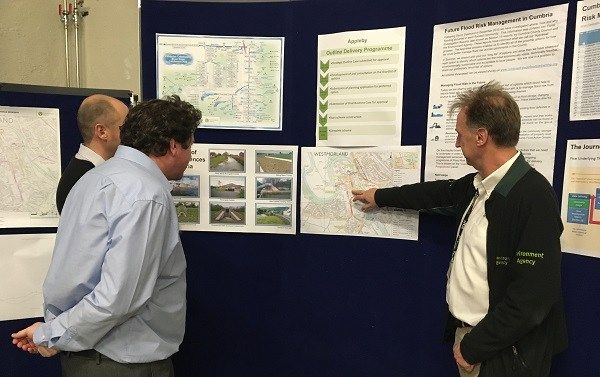 More opportunities to view and comment on options for future flood risk management in Cumbria https://i1.wp.com/www.cumbriacrack.com/wp-content/uploads/2018/03/Appleby-drop-in-1-Feb-1.jpg?fit=600%2C377&ssl=1 The Environment Agency is reminding residents in Cumbria of opportunities to view and comment on the short list of preferred options for future flood risk management    https://www.cumbriacrack.com/2018/03/08/opportunities-view-comment-options-future-flood-risk-management
