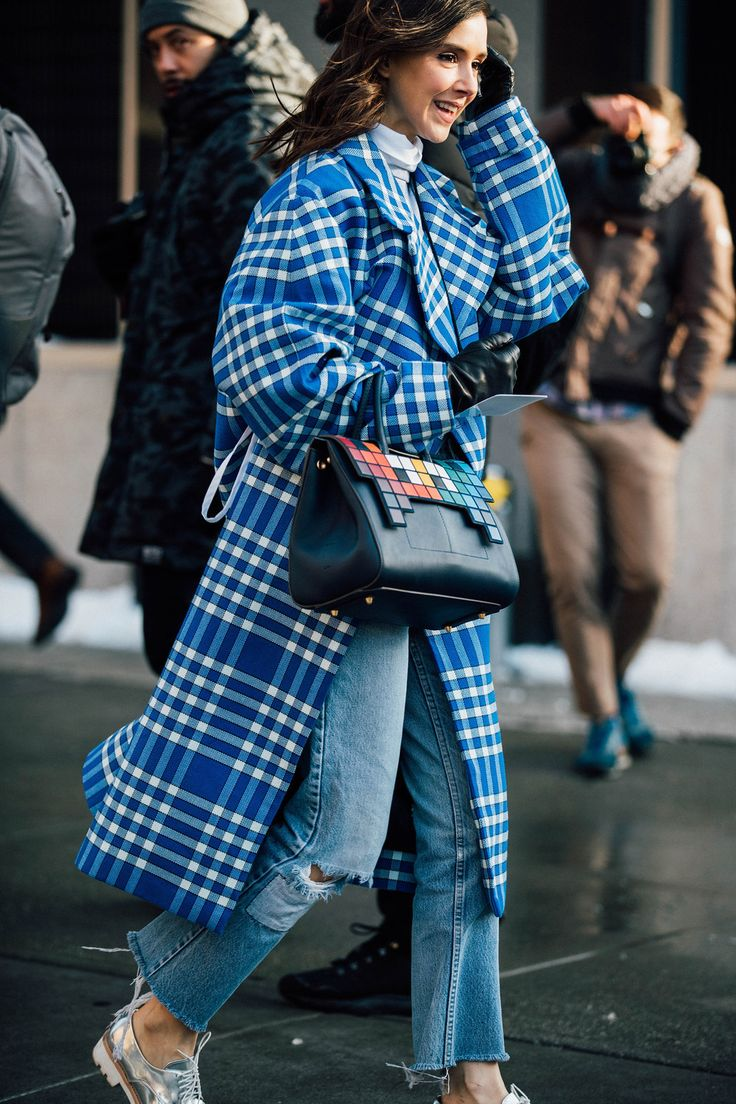 New York Fashion Week Herfst/Winter 2017 - De beste streetstyle van New York Fashion Week Herfst/Winter 2017