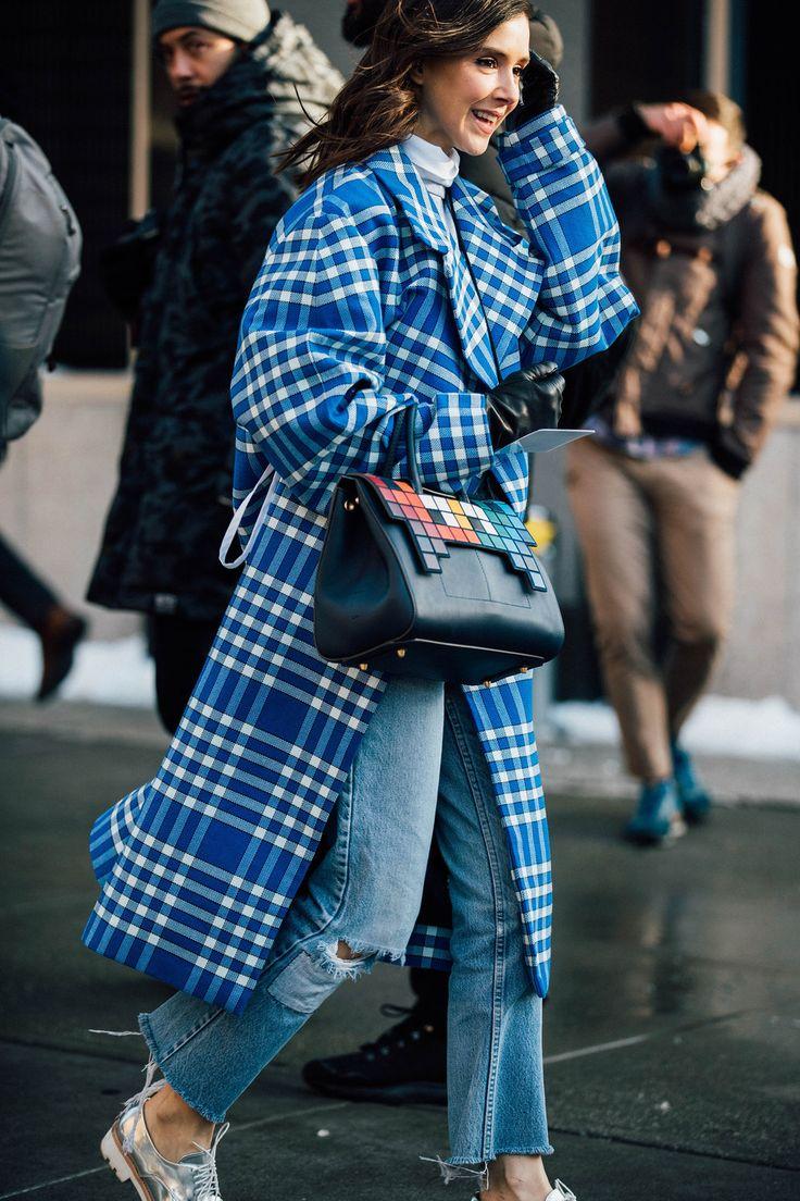New York Fashion Week Herfst/Winter 2017 - De beste streetstyle van New York Fashion Week Herfst/Winter 2017