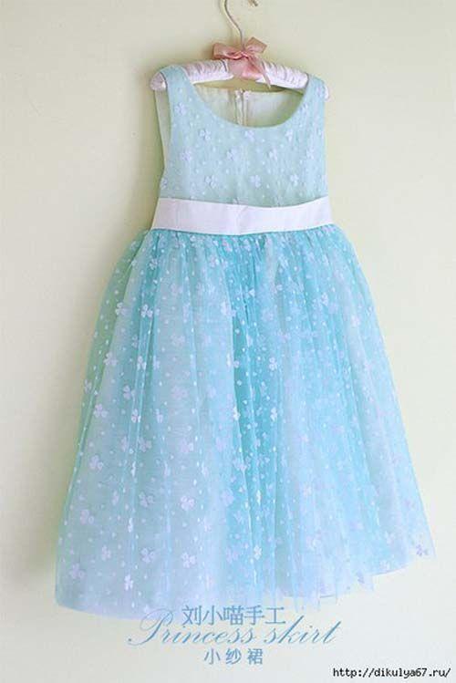 Patron para hacer un vestido de princesa