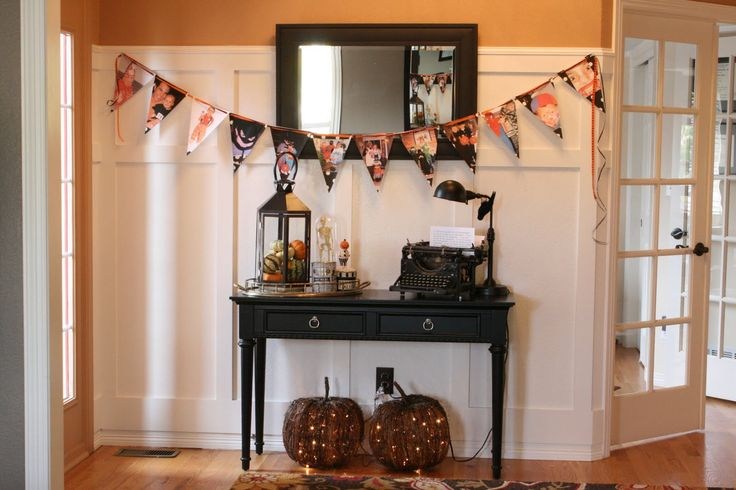 1000 Ideas About Halloween Entryway On Pinterest