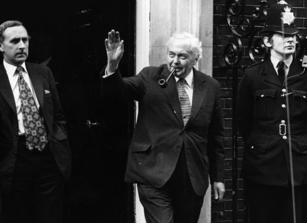 Harold Wilson surprised everyone when he resigned in March 1976, saying that he had lost interest in the grind of day-to-day politics. Since coming to power for a second time in 1974, he had held a referendum on the UK's membership of the European Economic Community - in an effort to avoid a split through the middle of his Labour Party - and seen a collapse in the value of the pound.
