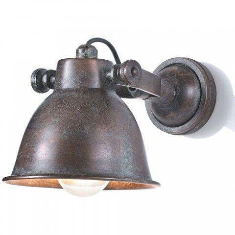 wandlampe antik wandleuchte vintage wandlampen innen wandlampen rustikal vintage lampen. Black Bedroom Furniture Sets. Home Design Ideas