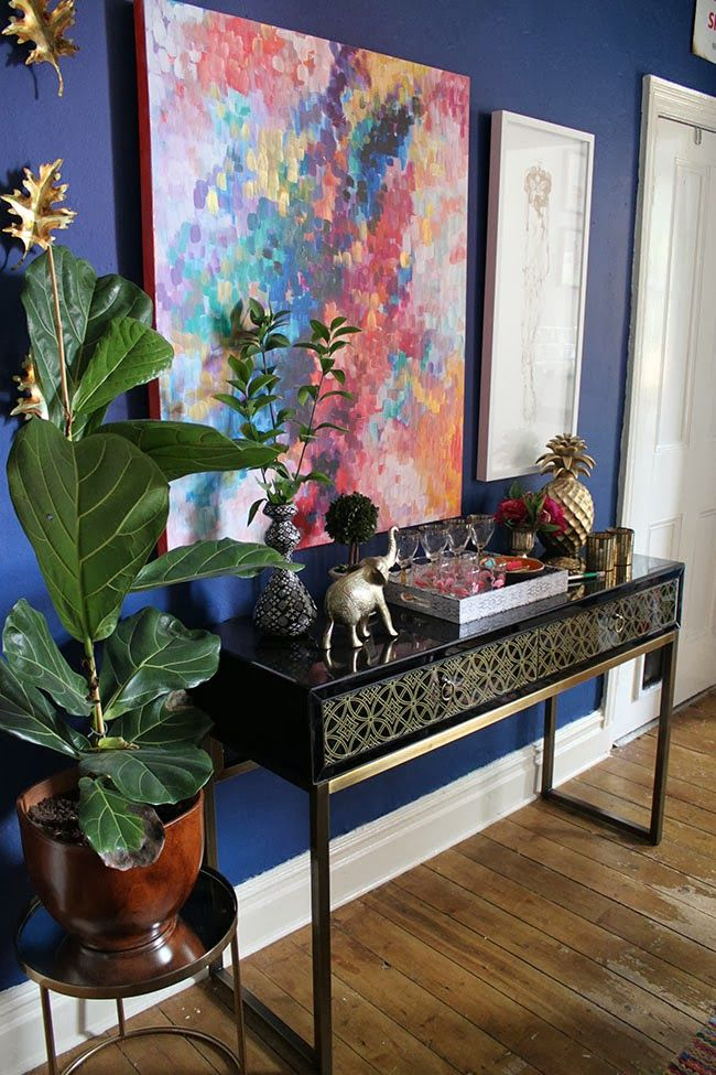 Swoon Worthy: Dining Room Glam: My New Console Table!