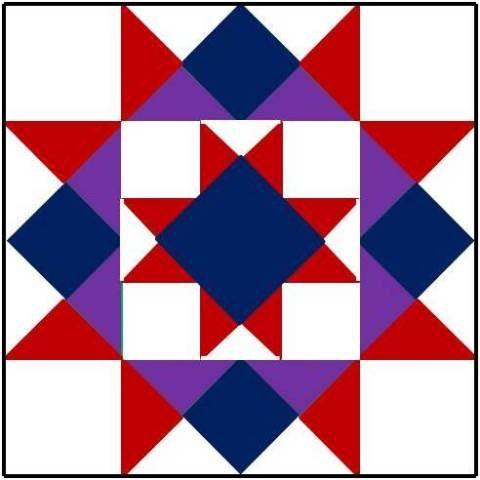 BARN QUILT PATTERNS OHIO STAR | Quilts & Patterns