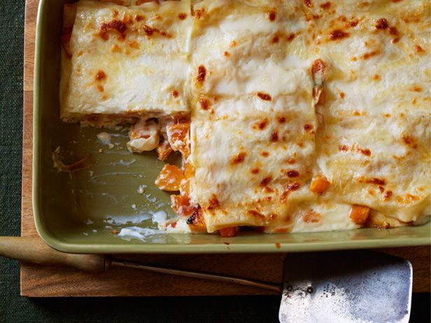 Roasted Butternut Squash Lasagna #MeatlessMondayMail, Network Magazines, Fall Food, Fall Recipe, Lasagna Recipes, Food Network Recipe, Squashes Recipe, Butternut Squashes Lasagna, Roasted Butternut Squashes