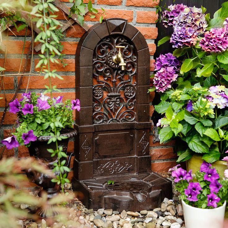 Wandbrunnen Klassik With Garten Wasserhahn