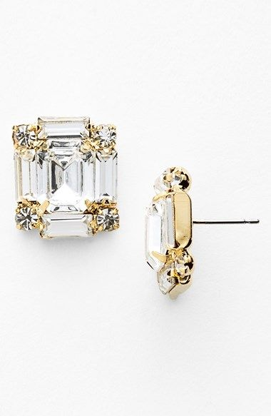 Nordstrom Crystal Stud Earrings | Nordstrom