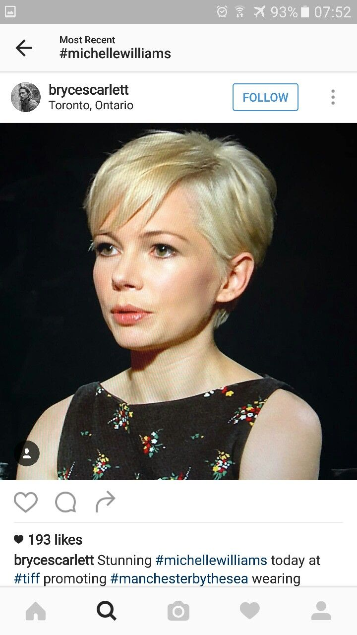 Michelle williams blonde pixie                                                                                                                                                                                 More