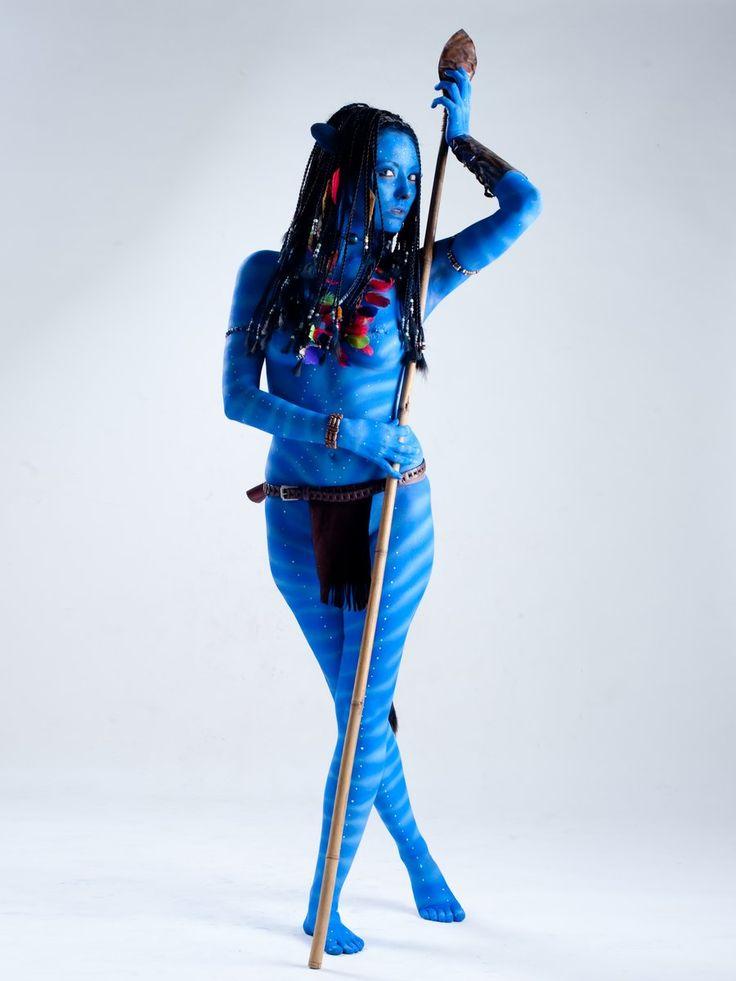 nerdy body paint | Cosplay: Avatar | Pinterest