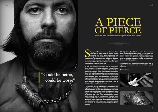 Inspirational Pagination: Magazine Layouts   Denis Designs   Free Photoshop Tutorials & Inspirations for Web & Graphic Designers