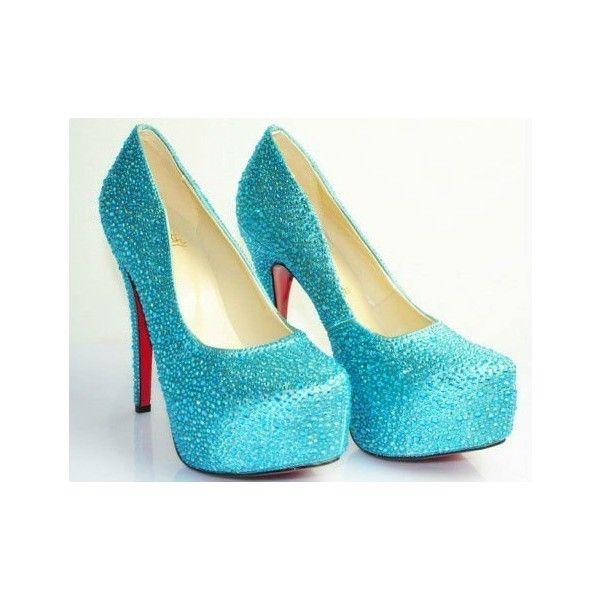 Paypal senhoras de salto alto vermelho botton casamento sapatos de... ❤ liked on Polyvore featuring sapatos