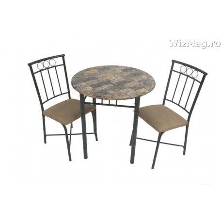 Masa bucatarie WIZ cu scaune mbs-9