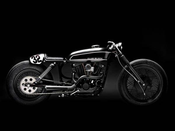 Wrench Monkees CLUB BLACK #2 - Harley Davidson Sportster