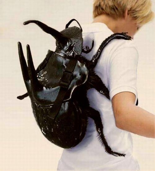 A back pack that will make anyone look twice.: Backpacks, Funny Pictures, Doctorwho, Doctors Who, Dr. Who, Rhinoceros Beetles, Bags, Donna Noble, Kid
