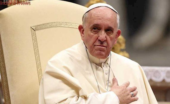 Pope Francis Says Will Be Sincere With Trump At Vatican Meeting