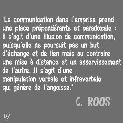 emprise et communication, C. Roos (4)