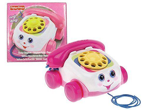 Fisher Price Chatter Telephone Pink MATTEL BRANDS https://www.amazon.co.uk/dp/B000VSMKAY/ref=cm_sw_r_pi_dp_x_dc68zbHYGN4VE