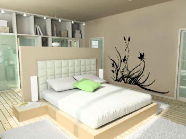 """Vinilo decorativo """"Meadow"""" ❤ ¡Da nuevos aires a tus paredes con estos motivos florales!"""