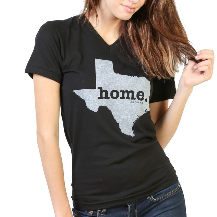 The Texas Home V-Neck is insanely soft, a great way to show off your state pride, and helps to raise money for multiple sclerosis research.The Home T products are 100% Made in the USA. We use a special screen printing technique to give the shirts a vintage look and feel.It