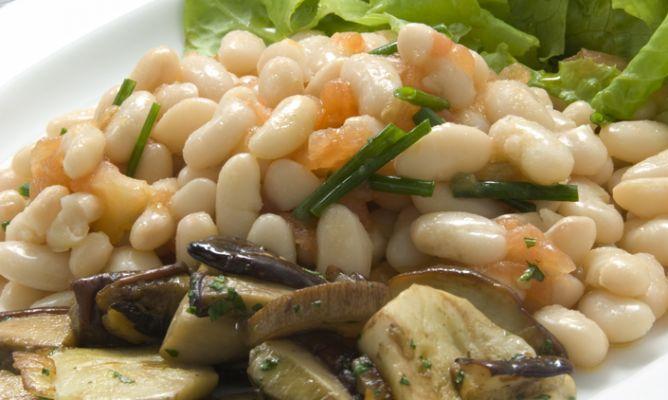 Receta De Ensalada De Pochas Con Vinagreta De Tomate Karlos Arguiñano Comida Fresca Recetas De Cocina Fáciles Comida