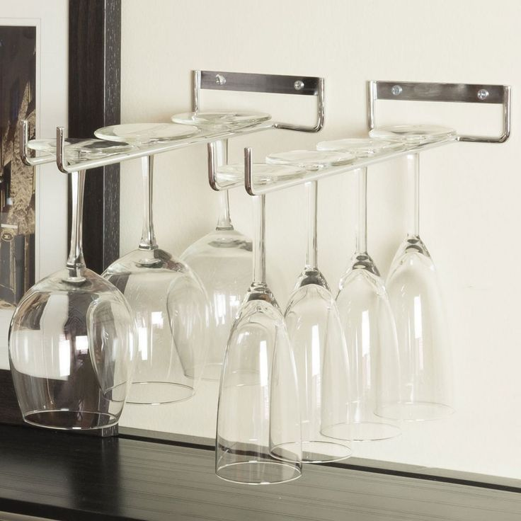 1000+ Ideas About Wine Glass Rack On Pinterest