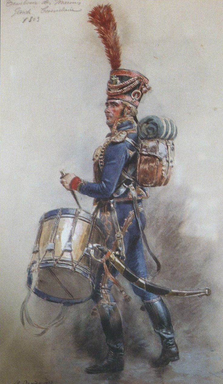 Tambour des marins de la Garde consulaire (par Maurice Orange).
